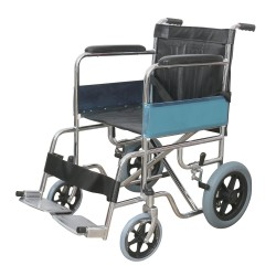 809 F12 Attendant Wheelchair