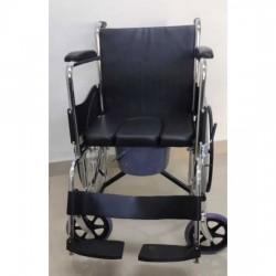 Commode Wheelchair U Cut Seat