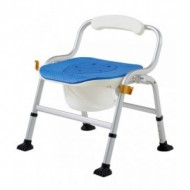 Deluxe Commode Shower Chair (EVA cushion)