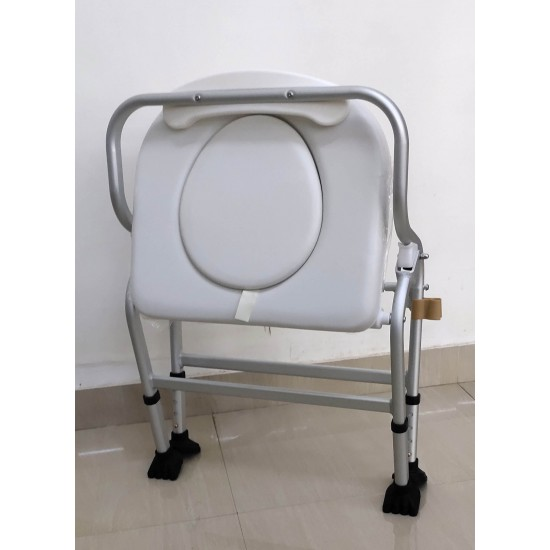 Deluxe Commode Shower Chair (Soft Cushion)