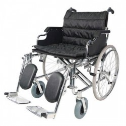 Deluxe Heavy Duty Wheelchair with Elevated Footrest