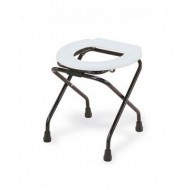Folding Commode Stool with Lock