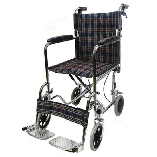 Lightweight Folding Transit Wheelchair