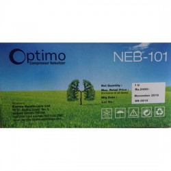 Optimo Compressor Nebulizer NEB-101