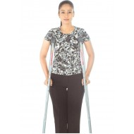 Adjustable Crutches Aluminium