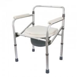 Aluminium Folding Commode Chair