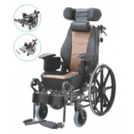 Cerebral Palsy Reclining Wheelchair with Comfortable Seat