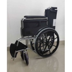 Deluxe PU Mag Wheels Wheelchair