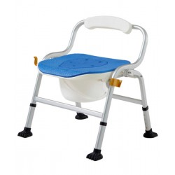Deluxe Shower Commode Chair (EVA Cushion)