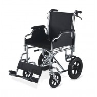 Deluxe Travel Wheelchair with Detachable Armrest & Footrest
