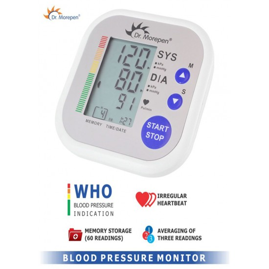 Dr Morepen BP 02 Automatic Blood Pressure Monitor