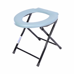 Imported Folding Bathroom Commode Stool