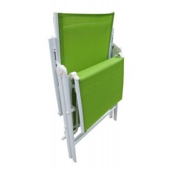 Folding Reclining Chair Leg Frame Green