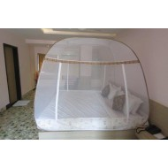 Folding Self Standing Mosquito Net Bed Canopy
