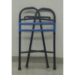 MS Powder Coating Foldable Walker