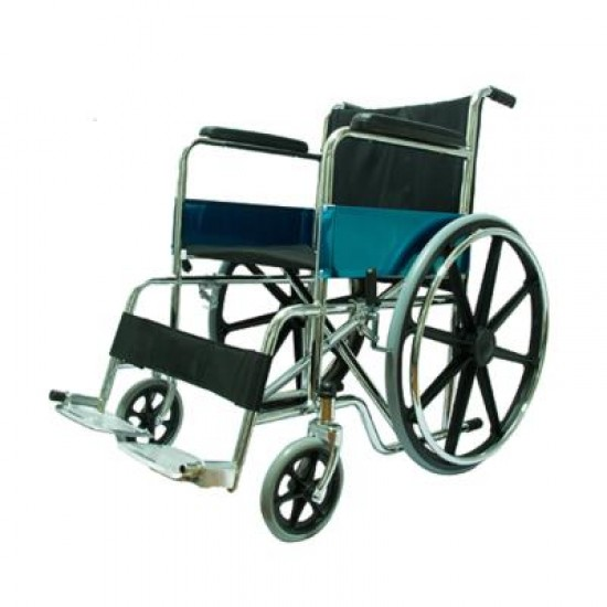 Heavy Duty Mag Wheels Wheelchair