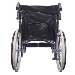 Karma Champion CHM 205 AB Attendant Brake With Foldable Backrest Wheelchair