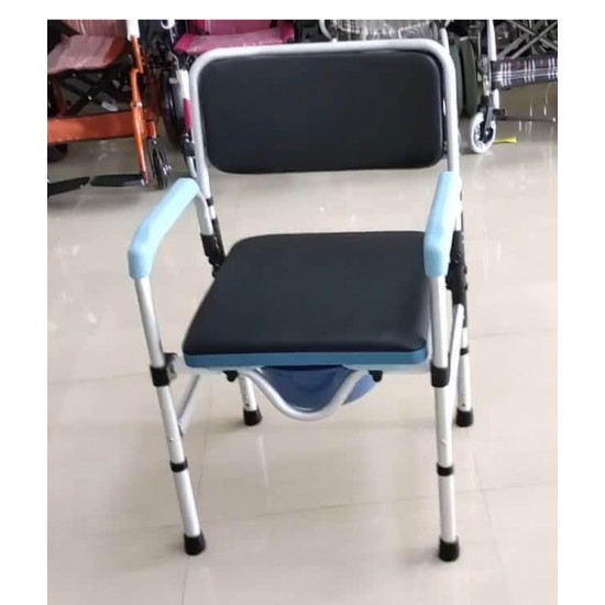 Lightweight Foldable FC Shower Commode Chair