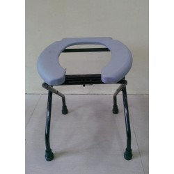 Toilet Commode Stool With Open Front