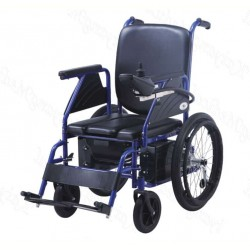 Power Wheelchair With Commode