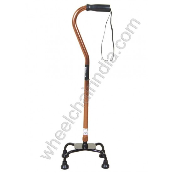 Quadripod Walking Stick