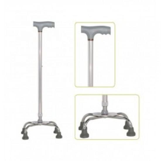 Adjustable Quadripod Walking Stick