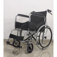 Regular Folding Wheelchair With Safety Belt