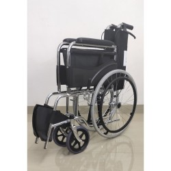 Folding Wheelchair Chrome Polish