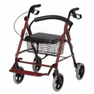 Rollator Walker Cum Wheelchair
