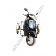Side Wheel Attachment Kit For Activa Black