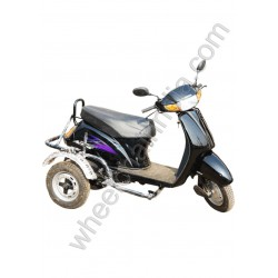 Side Wheel Attachment Kit For Activa Black