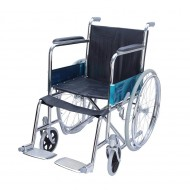 Spoke Wheel Folding Wheelchair