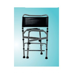 Vissco Comfort Foldable Height Adjustable Commode Chair