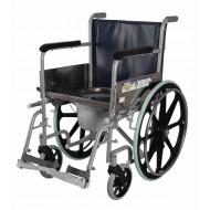 Vissco Comfort Wheelchair with Commode