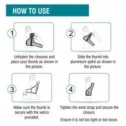Med-e Move Thumb Spica Splint