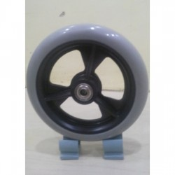 Wheelchair Front Caster Wheel 6 Inch