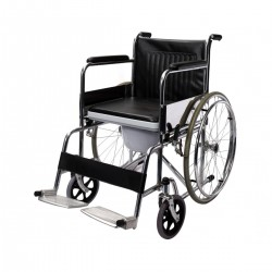 609 Manual Foldable Commode Wheelchair