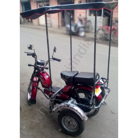 Canopy Attachment Kit For Motorcycles