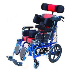Multi Functional Cerebral Palsy Recliner Wheelchair For Adult
