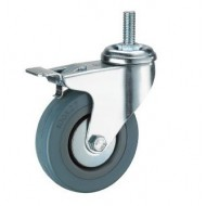Wheel Caster 3 Inch With Brake For Commode Chair