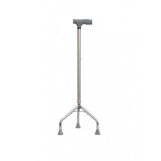 Height Adjustable Tripod Walking Stick