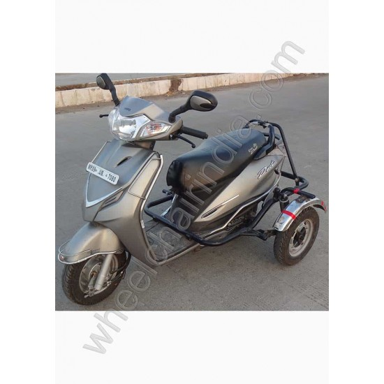 Handicapped Moped Side Wheel Attachment Kit For Hero Duet
