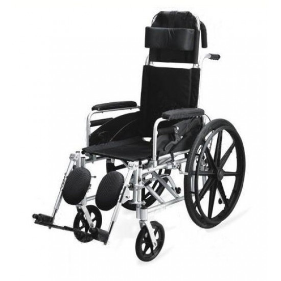 Manual Wheelchair With Reclining High Back