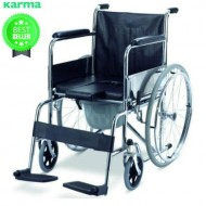 Karma Commode Wheelchair Rainbow-6 With Food Table