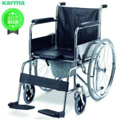 Karma Commode Wheelchair