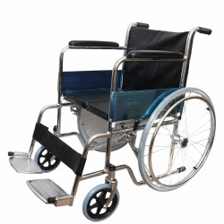Karma Fighter Stainless Steel HS Wheelchair With Hard Seat