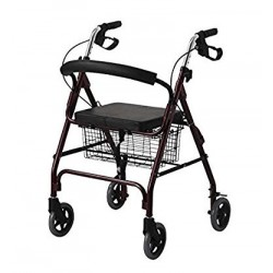 Karma RT 60 Foldable Rollator Walker With Seat