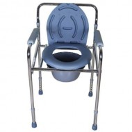 Karma Foldable Commode Chair Rainbow 2