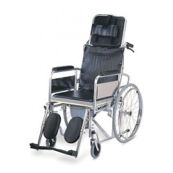 Karma Rainbow 8 Reclining Manual Wheelchair With Commode