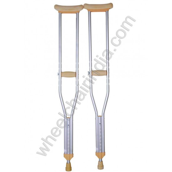 Karma Aluminium Underarm Crutches